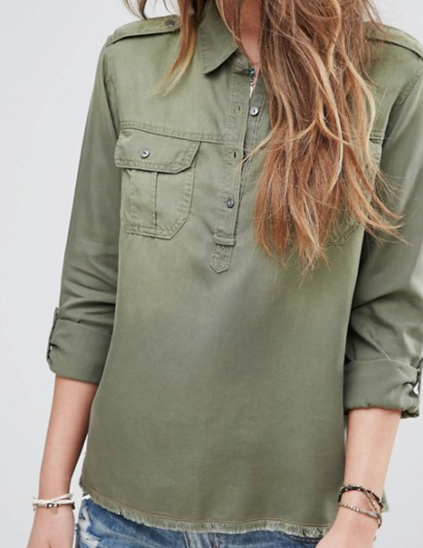 Hollister Utility Shirt