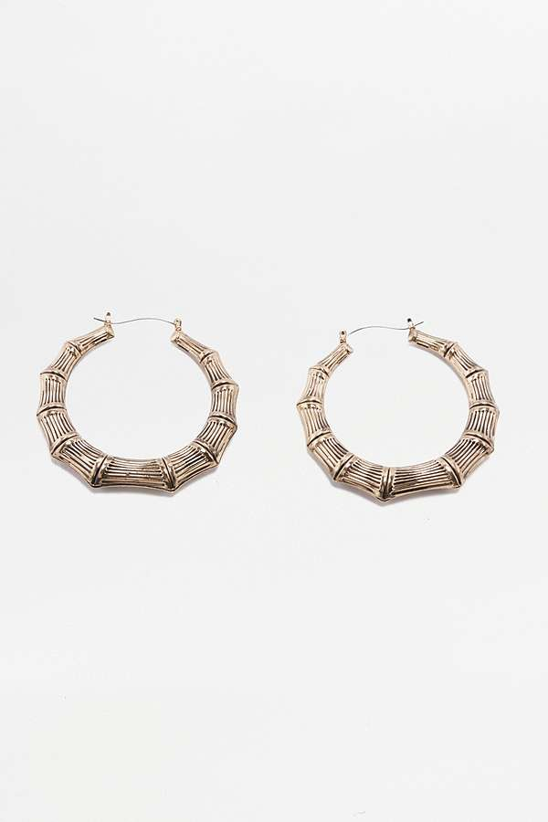 Urban Outfitters Gold Bamboo Earrings