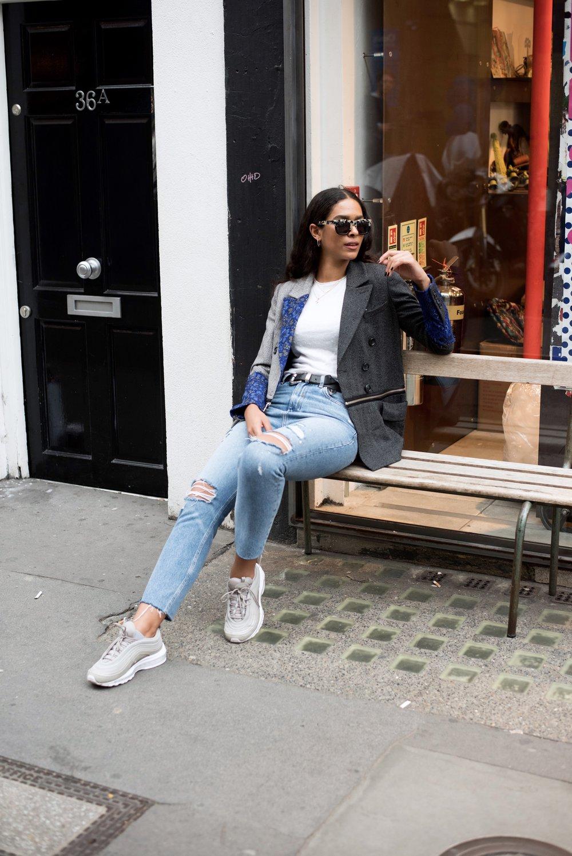 [Three Floor Suit Jacket:RRP £310,Sample size buy £45]