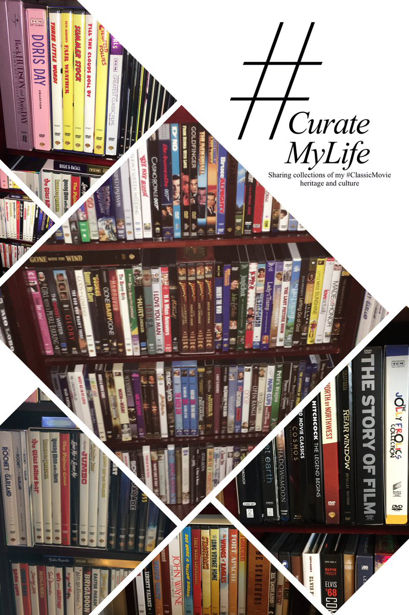 #CurateMyLife – #ClassicMovie DVD Collection