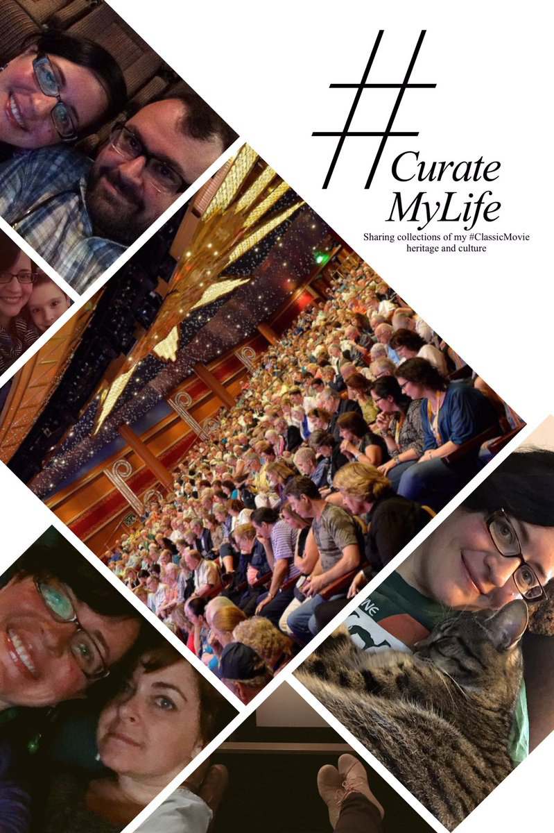 #CurateMyLife – Pictures with Friends at a #ClassicMovie