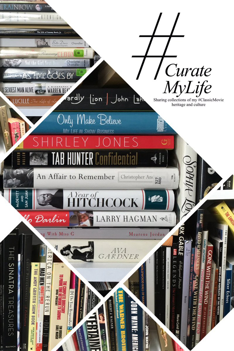 #CurateMyLife – #ClassicMovie Book Collection