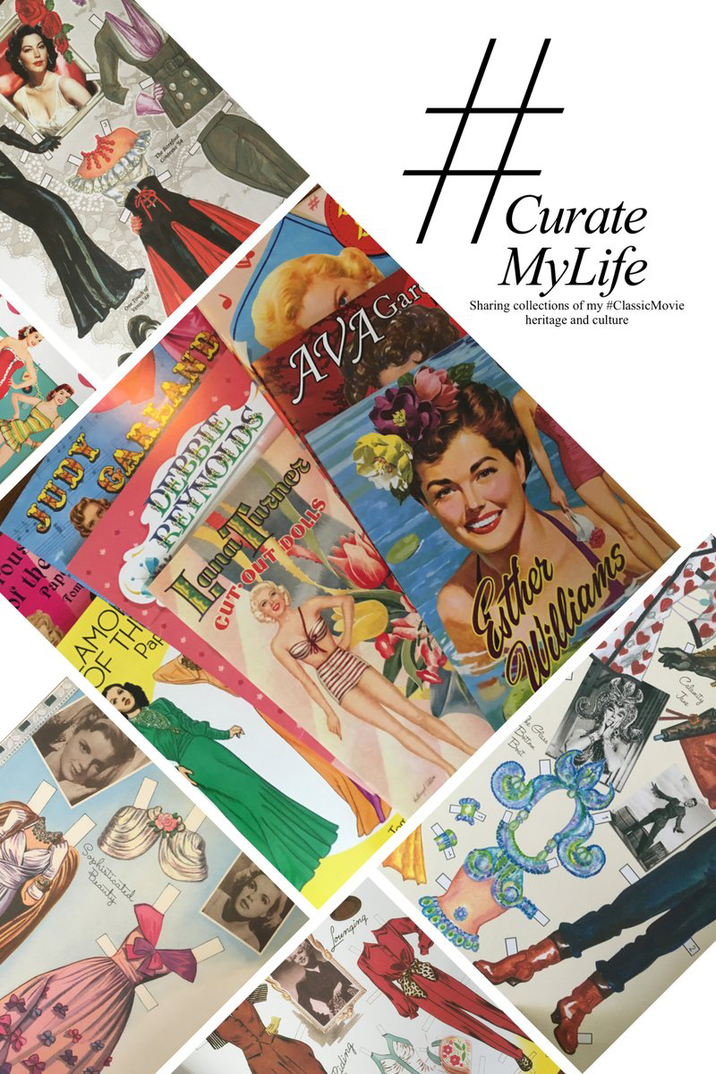 #CurateMyLife – #ClassicMovie Paper Doll Collection
