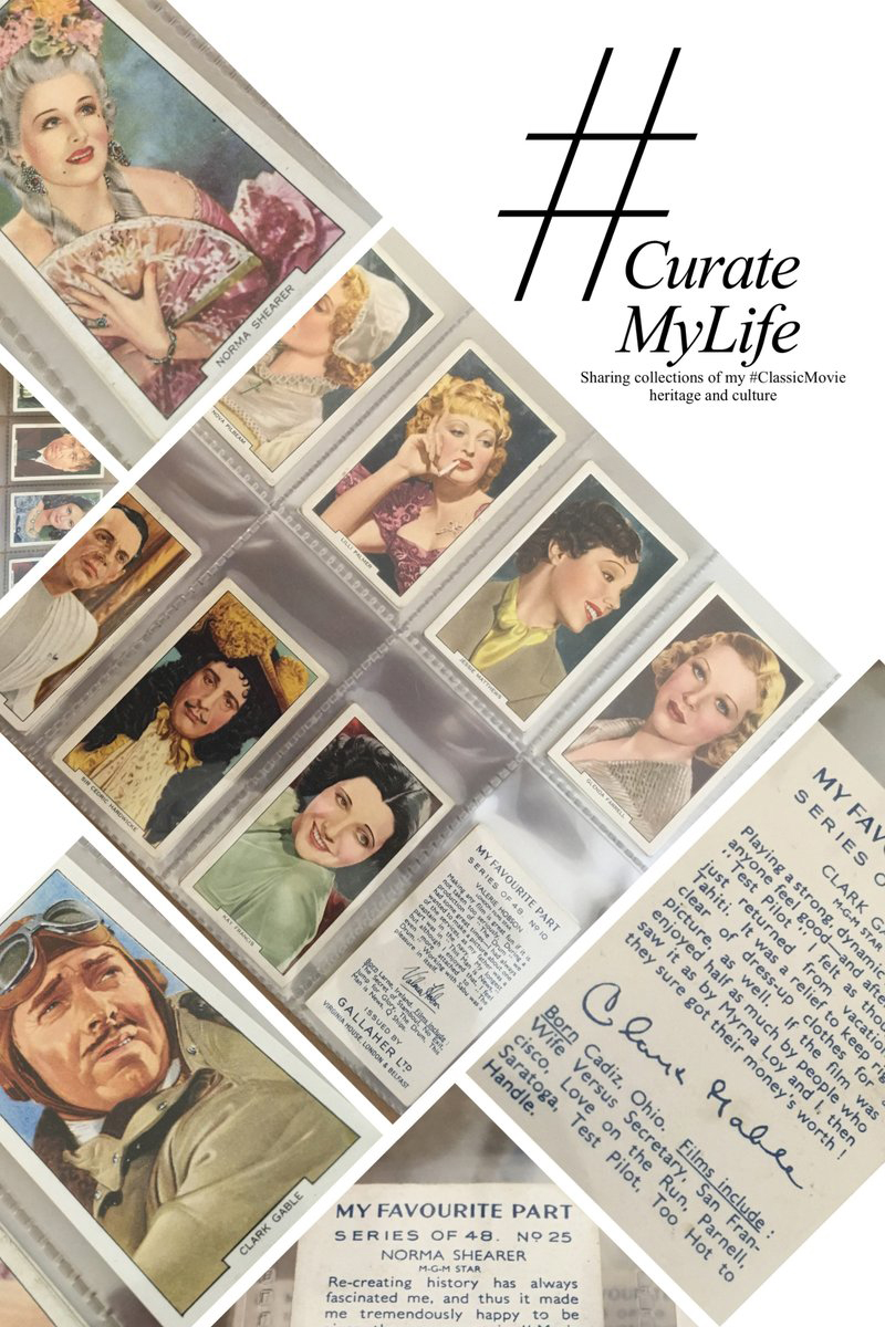 #CurateMyLife – #ClassicMovie Trading Cards