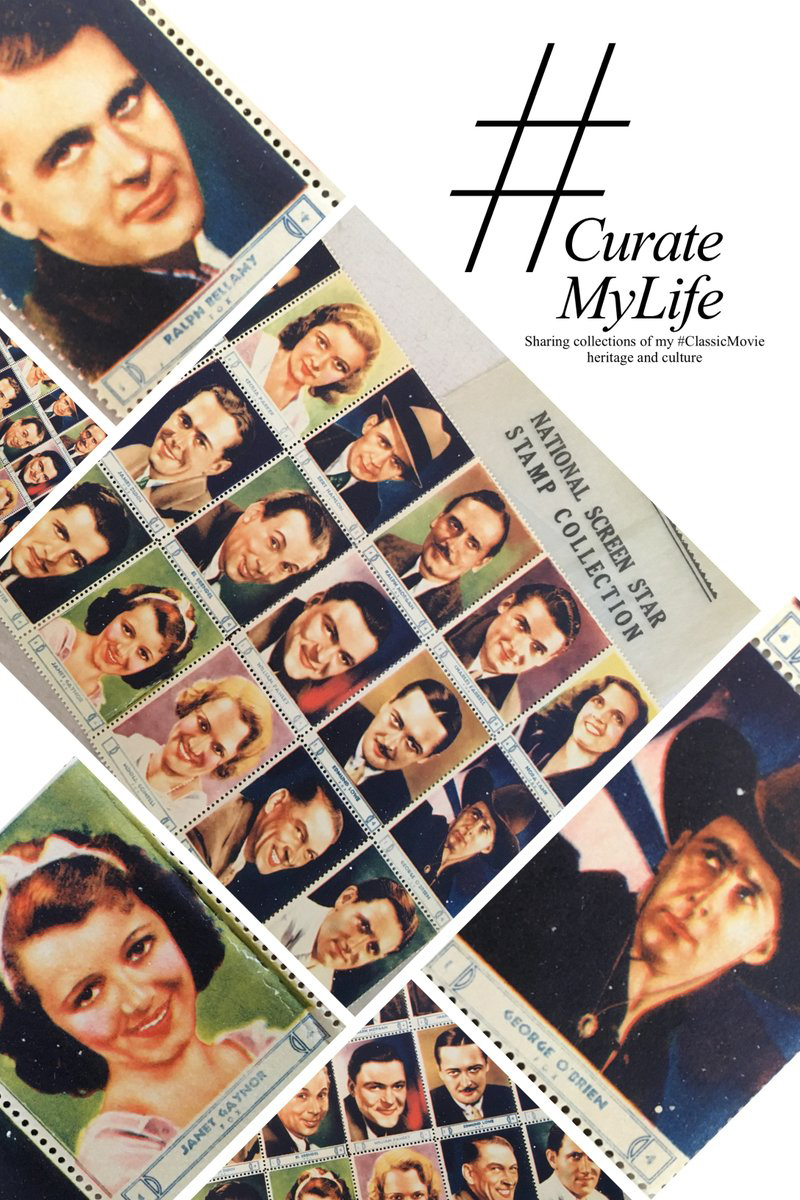 #CurateMyLife – #ClassicMovie Stamps