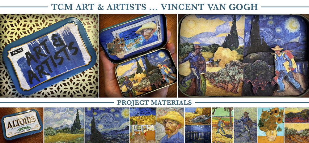 """Mini-diorama for the Vincent Van Gogh biopic """"Lust for Life"""""""