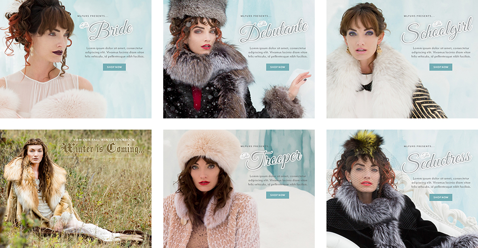Various Homepage Banners (AW12 - AW13)