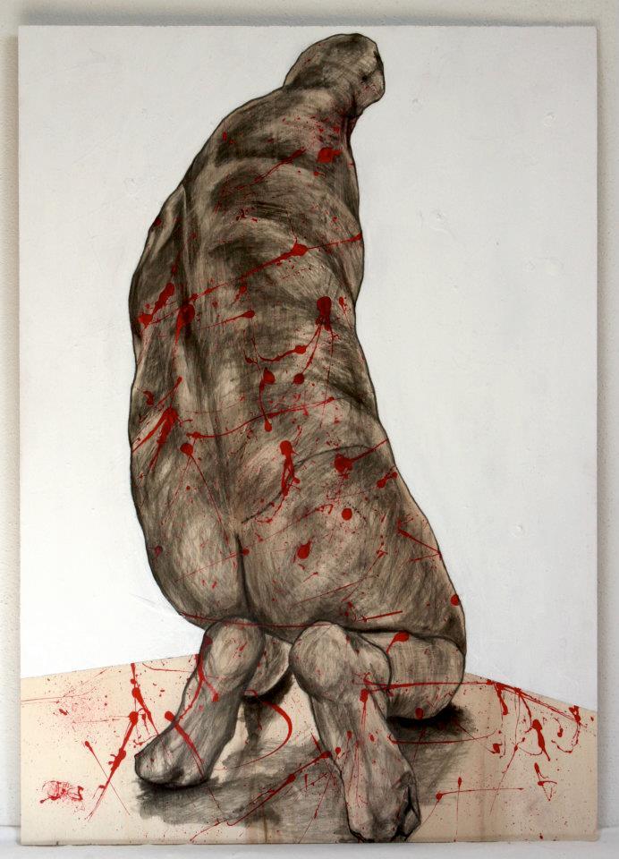 Pollock'd Kneeling Down