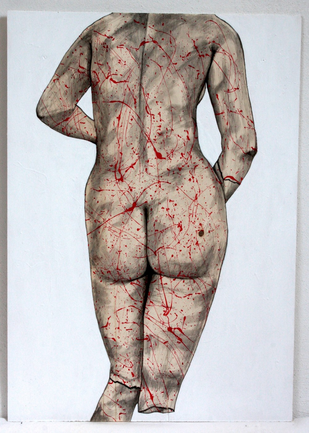Pollock'd, Missing Leg