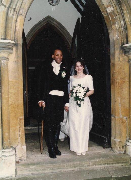 Louise & Jim On Their Wedding Day