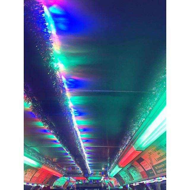 I passed through the seven levels of the Candy Cane forest, through the sea of swirly twirly gum drops, and then I walked through the Lincoln Tunnel.