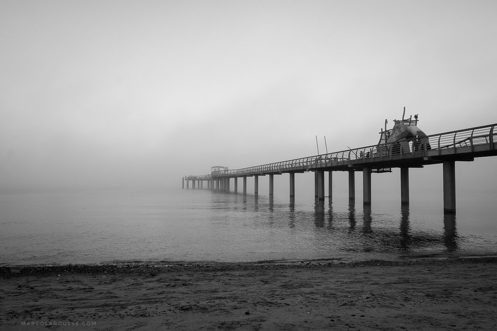 Off Season - Pier in Fog