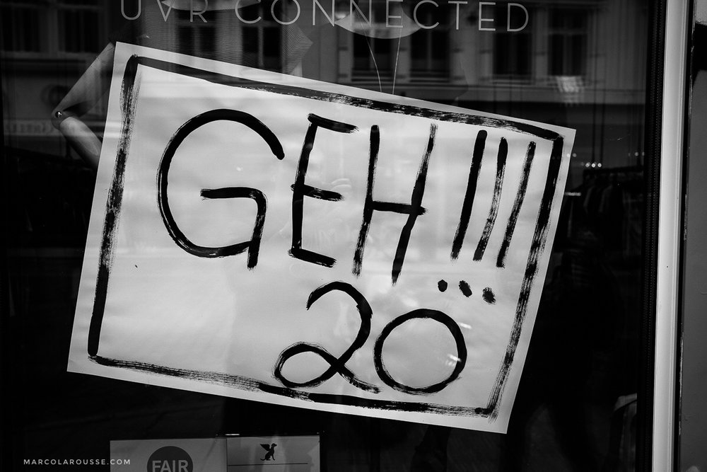 To sum it up: Many citizens of Hamburg want the G20 summit to just go away.