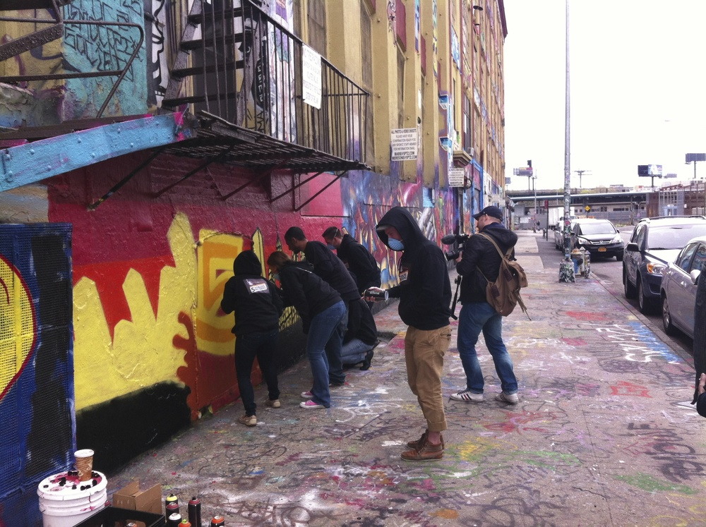 Atelier graffiti au coeur de NYC