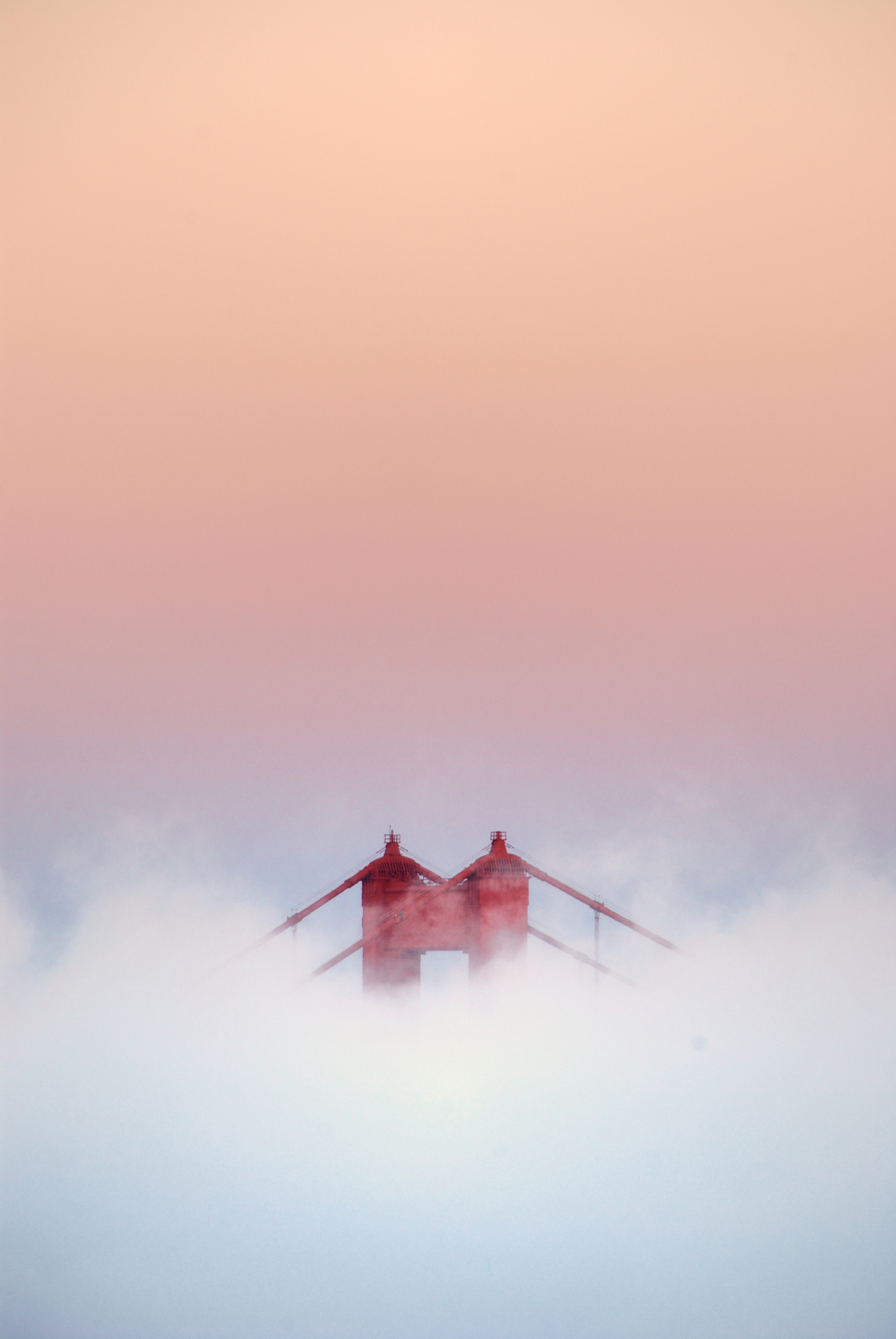 Golden Gate Bridge - Tower and Fog.jpg