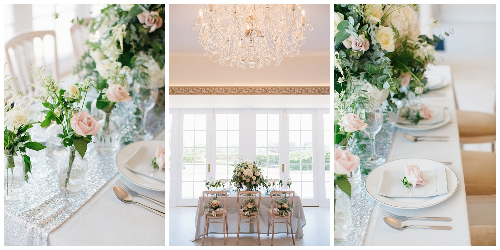 wedding stylist tablescape from charlotte munro