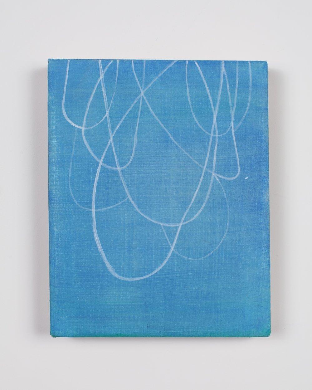 "Acrylic on linen 8""x 10"" 2017"