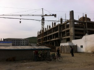 Construction in Rajin