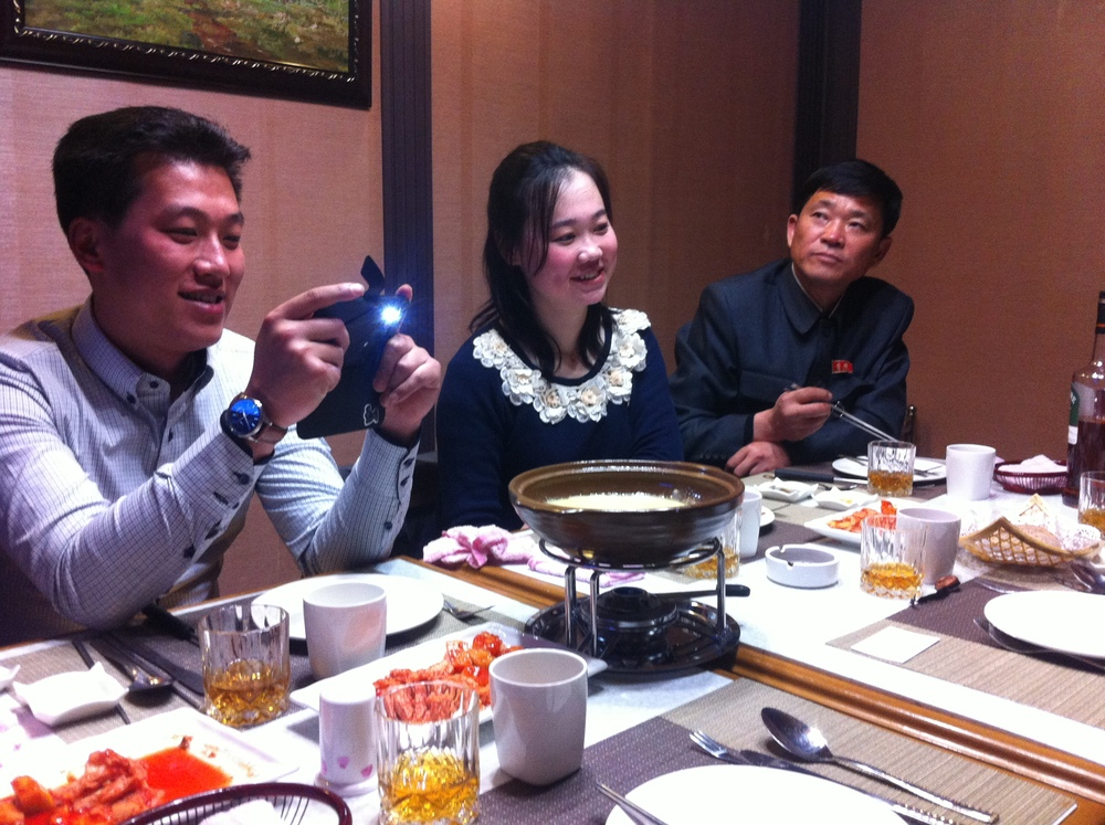 Something in common with regional friends - see the  Pictures of Asians Taking Pictures of Food Tumblr
