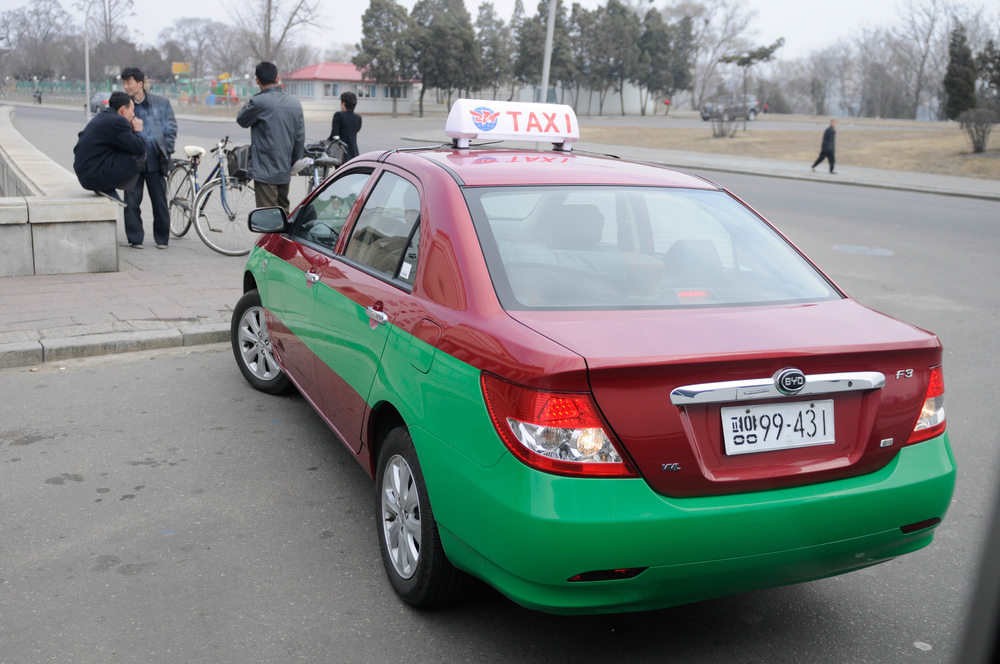 Easier to catch a cab than in Beijing, one suspects.