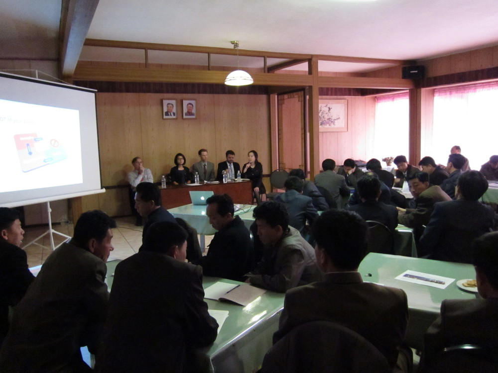 Recent workshop on SEZ development in Wonsan with participants from many of the East Coast provinces