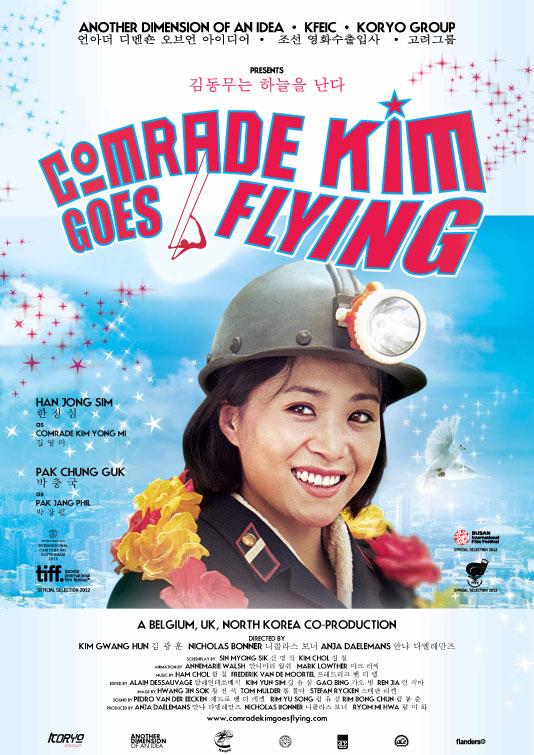 Comrade Kim Goes Flying Poster