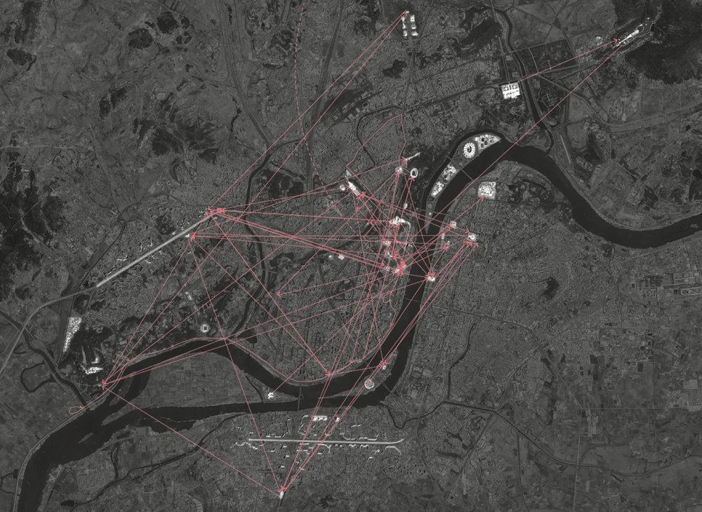 Map of Pyongyang