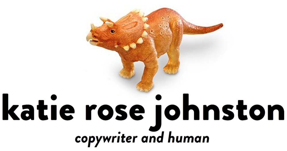 Katie Johnston: Copywriter
