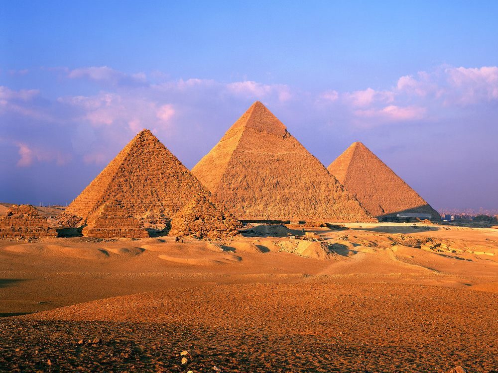 Building a great wonder of the world like the Egyptian Pyramids of Giza, that would be awed upon even thousands of years later.
