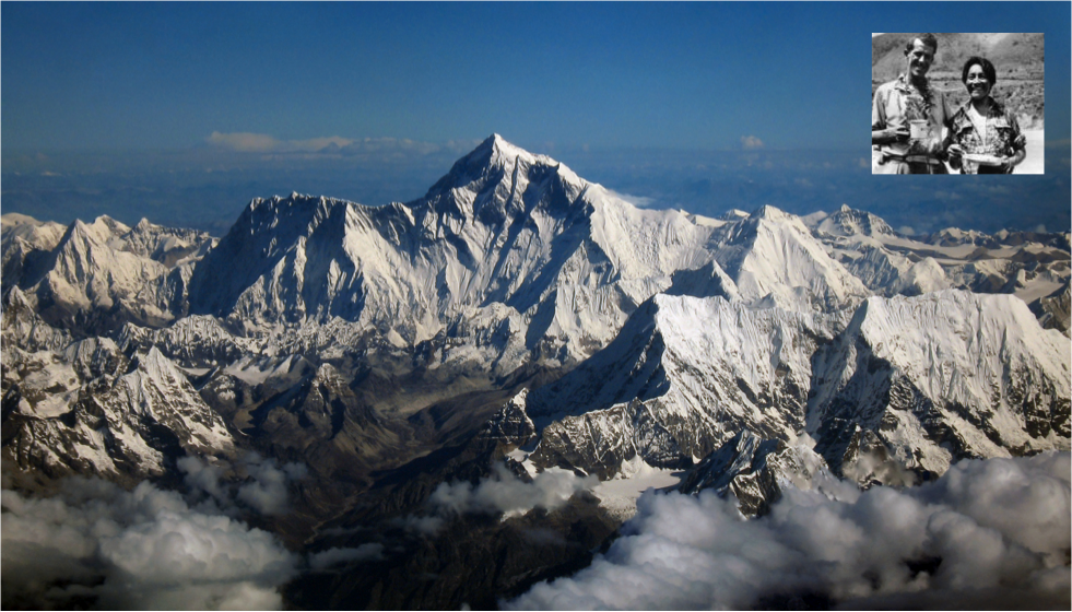 Being the first to climb (and survive) Mt. Everest