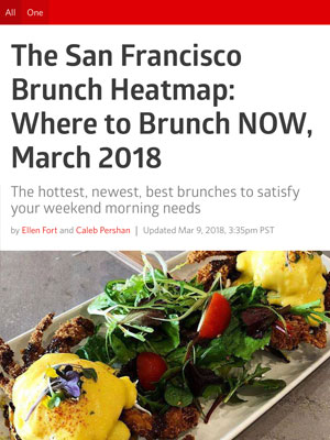 SF Eater Where to Brunch  March 2018