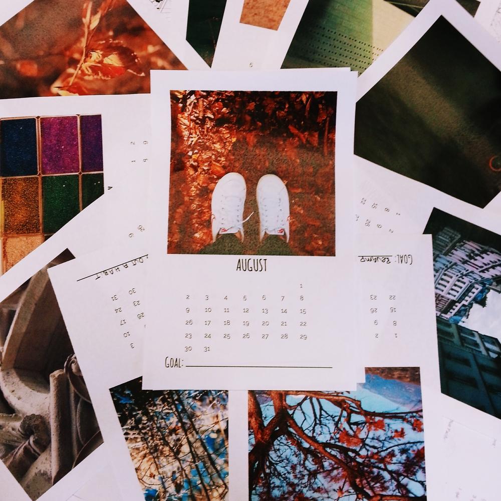 Free Printable! 2015 Goal Calendar - Little Eli