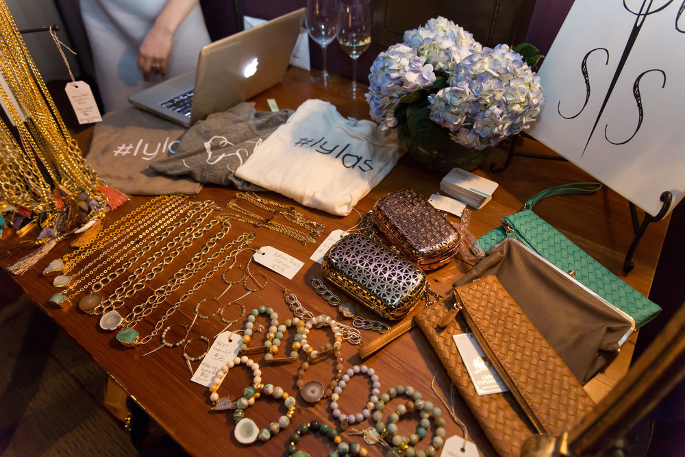 sosis' table. so in love with those #lylas shirts! PHOTO by TAYLOR GONSOULIN PHOTOGRAPHY.