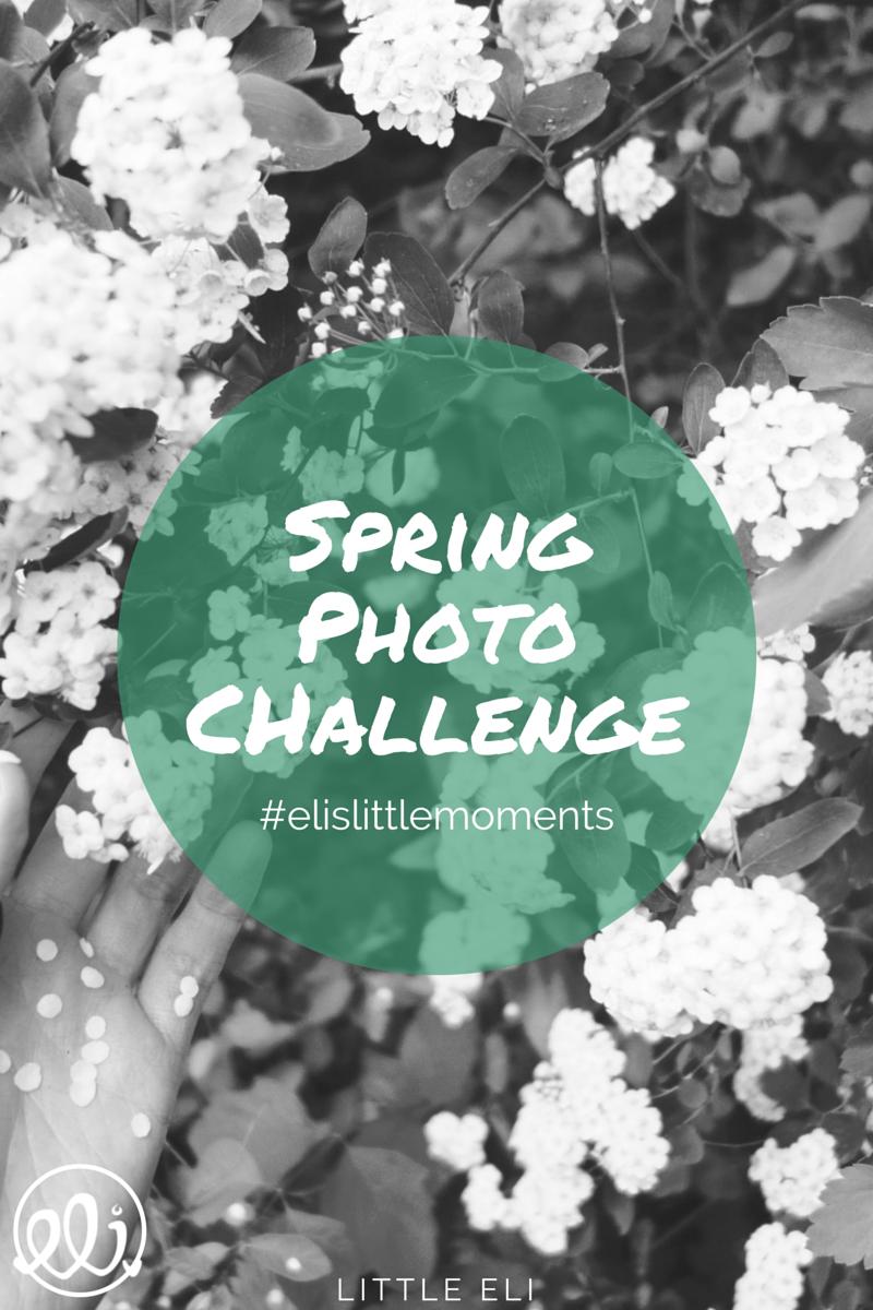 Spring Photo Challenge - #elislittlemoments - Little Eli