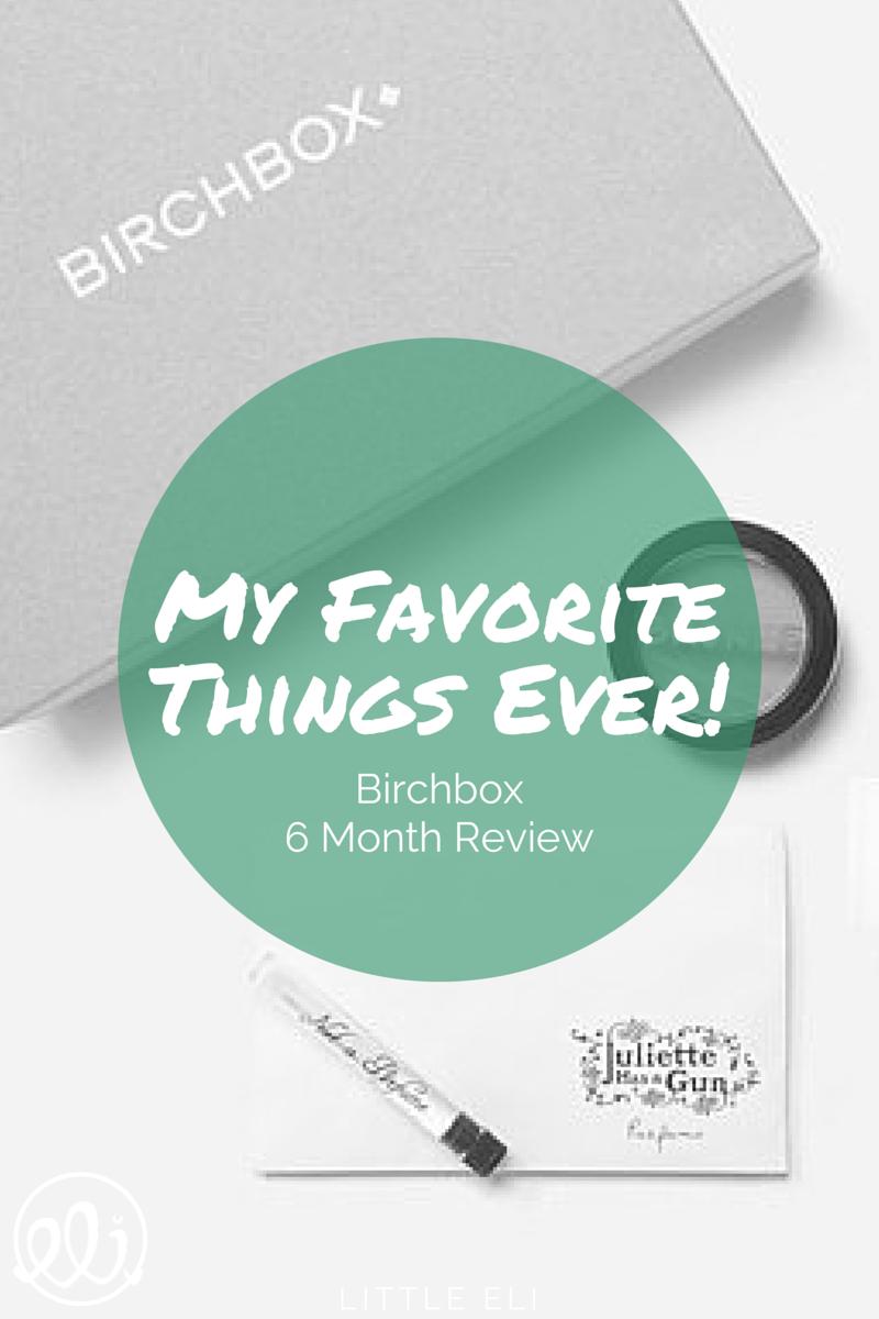 Top 5 Roundup #Birchbox - Little Eli