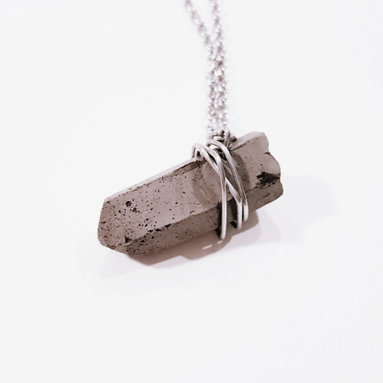 The Artemis - Steel - Little Eli Concrete Jewelry