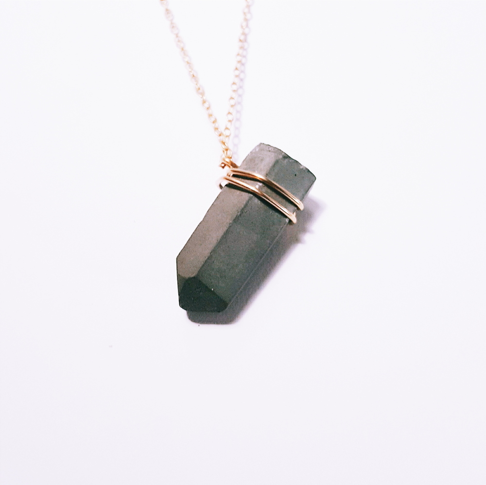 The Artemis - Gold - Little Eli Concrete Jewelry