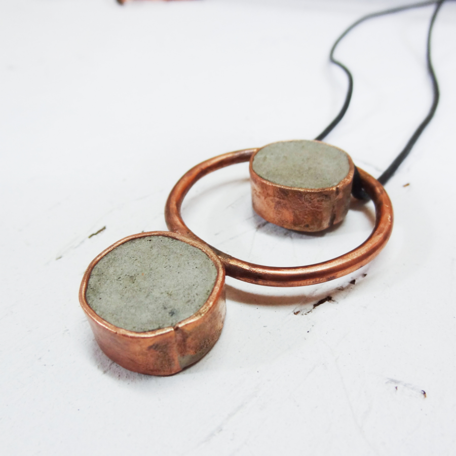 Hephaestus 3 - Copper Jewelry - Little Eli