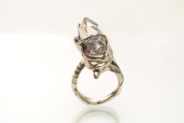 Custom Herkimer Ring