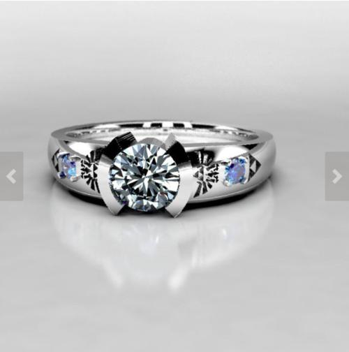 Legend Of Zelda Inspired Wedding And Engagement Rings Metal