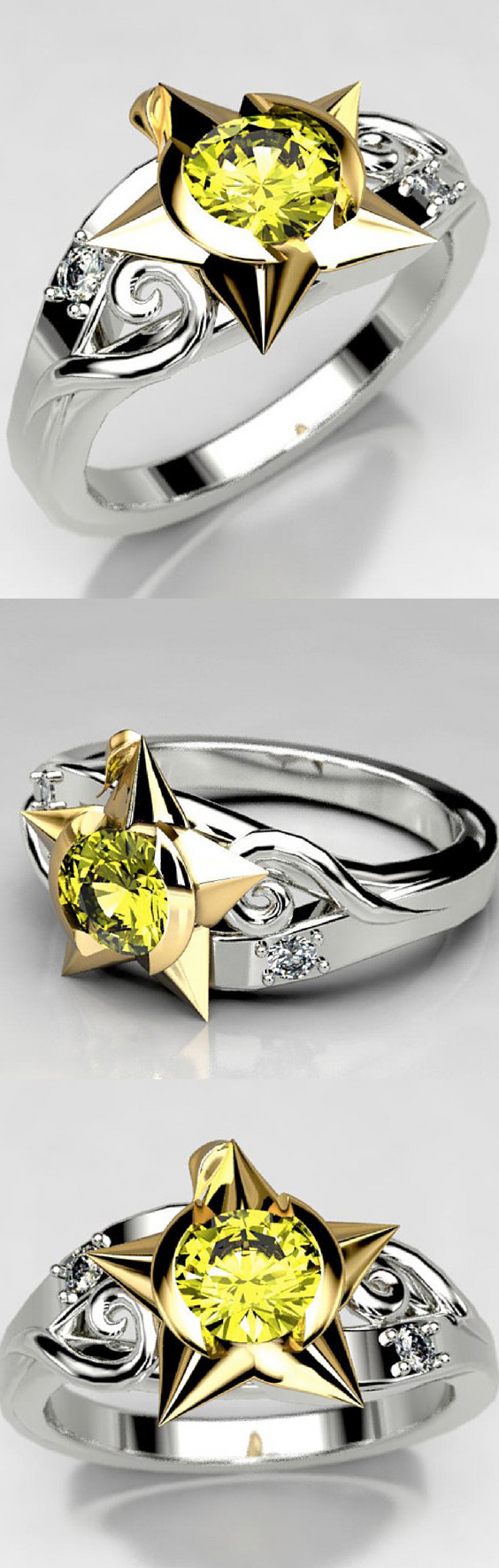 Kingdom Hearts Paopu Fruit Engagement Ring.png
