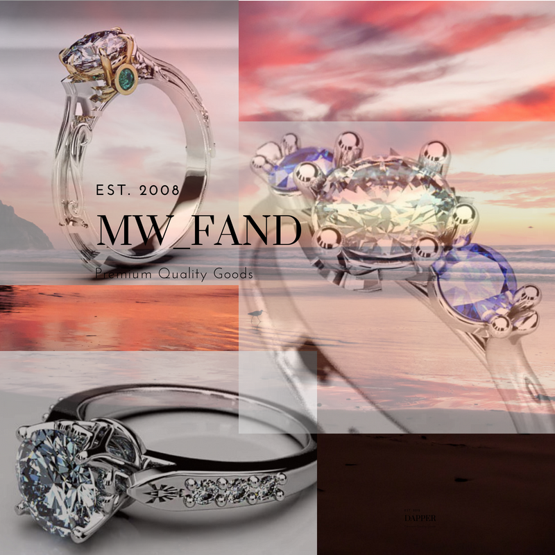 Kingdom Hearts Keyblade Engagement Rings