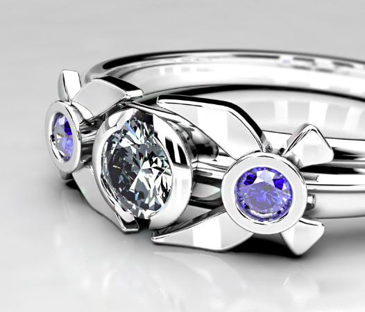 Legend of Zelda Inspired Engagement Ring - Navi Ring.png