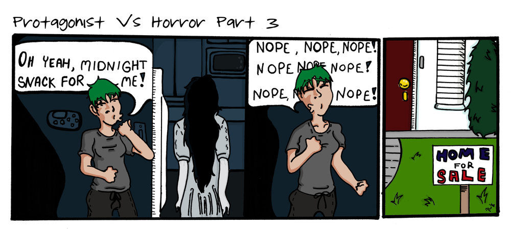 Protagonist Vs Horror Part 3
