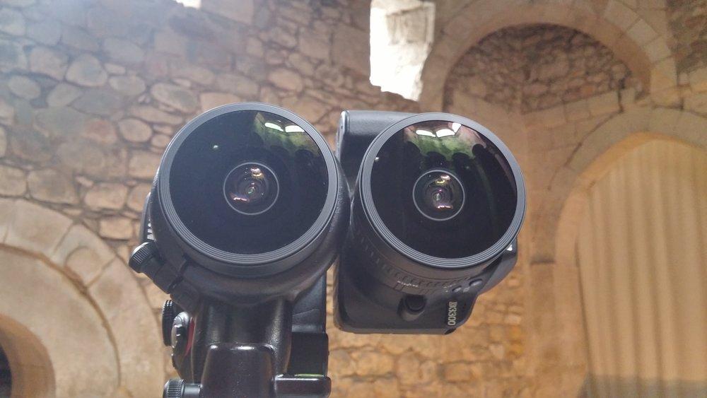 Sistema estereoscópico de grabación VR