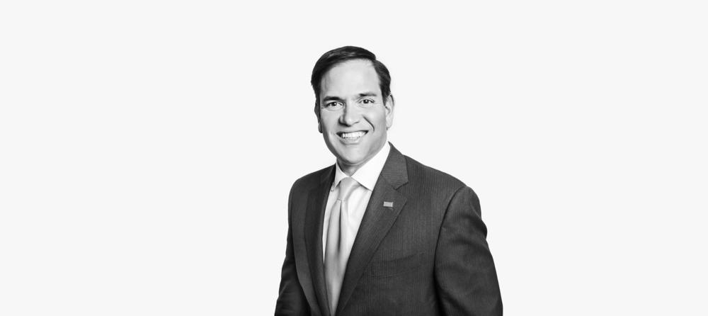 Marco Rubio, Presidential Candidate, Senator of Florida.