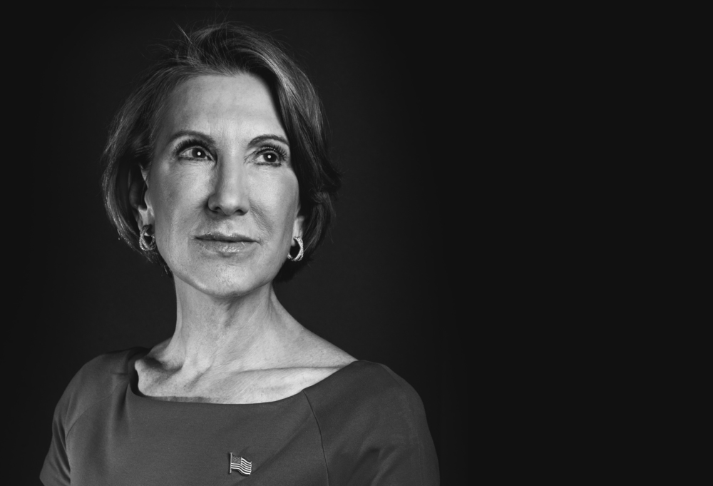 Carly Fiorina, 2016 Presidential Candidate, former CEO of Hewlett Packard