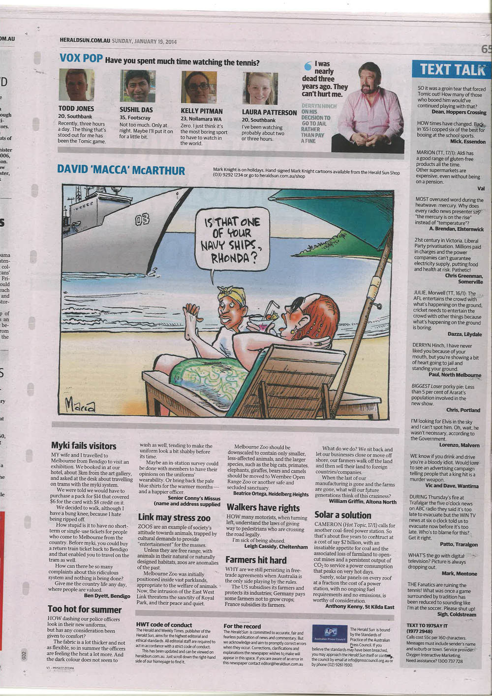Herald Sun Cartoon 19.01.14.jpg