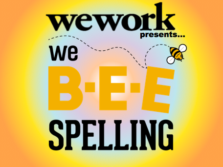 This is NOT the spelling bee you remember from middle school. Well, unless you middle school bee involved hilarious comedians, a live funk-rock band and a fully stocked bar. And in this bee, your embarrassment does more than just impact your ego... all the proceeds go to education charities, so your impact actually helps others learn to spell better than you! WeWork presents: We Bee Spelling JUNE 14th, 6:30pm at Knitting Factory Brooklyn A battle of benevolence and etymological hijinks supporting four great NYC-based education nonprofits: BUILD NYC, Room to Read, Inclusion, & PENCIL!