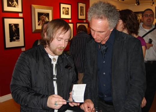 2008-Bob Gruen & Simon Collins